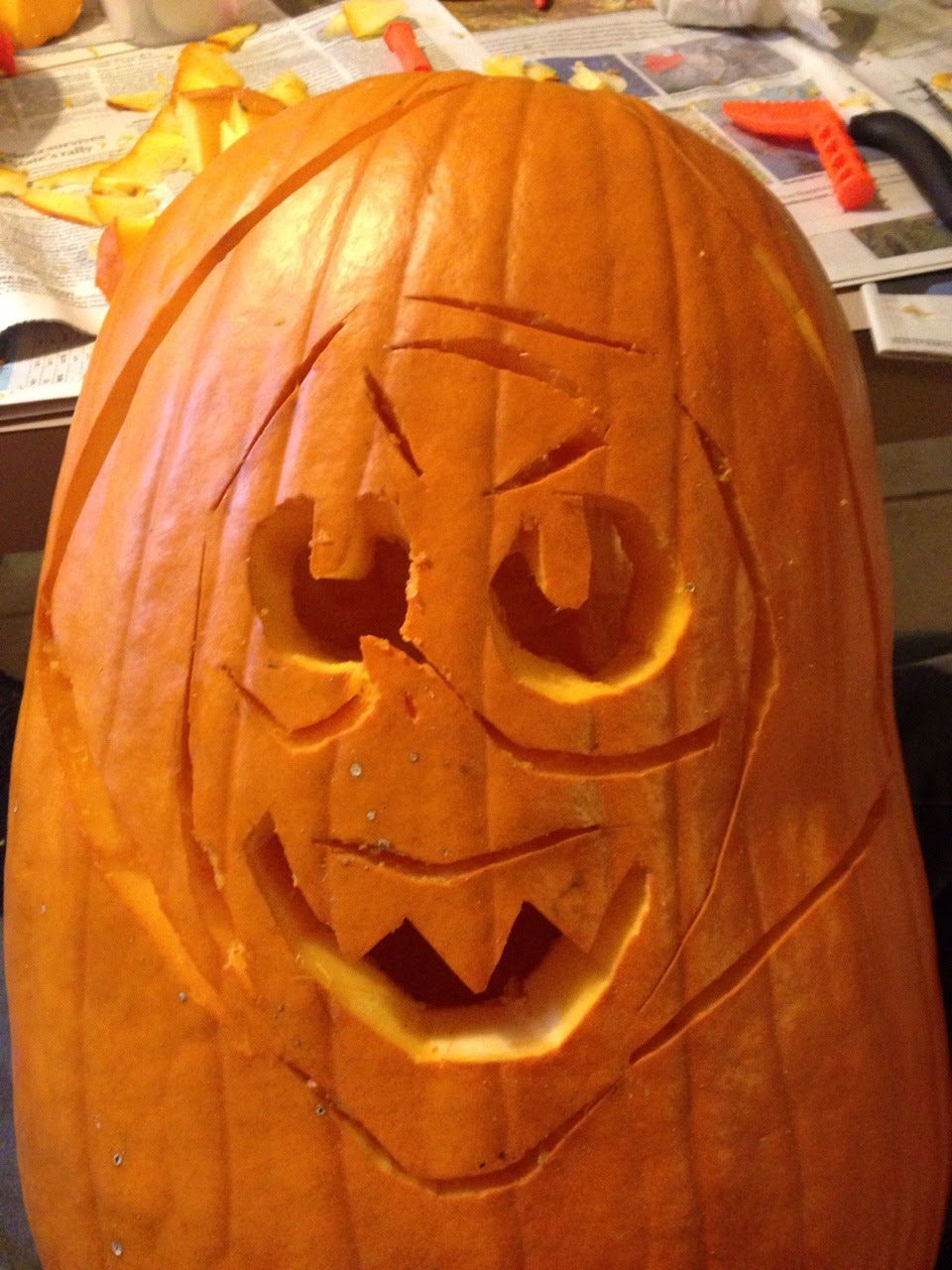 I made a peripumpkin and it was FECKIN HARD
