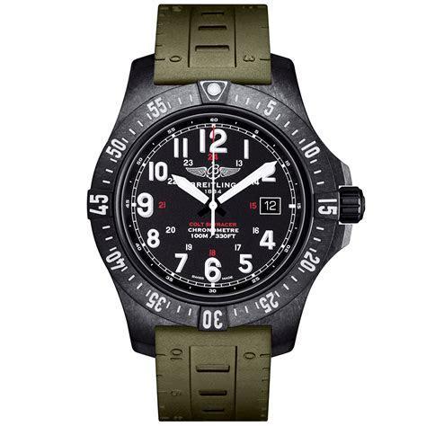 Breitling Colt Skyracer 45mm Breitlight & Black Dial Watch