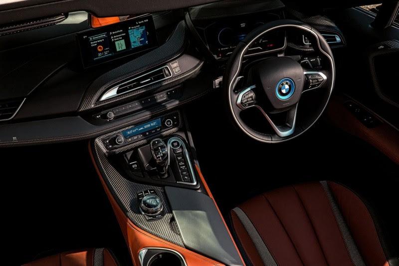 BMW i8 Roadster Gets Improved Electric Range