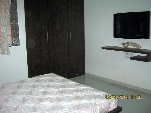 Master Bedroom - show flat of Pristine City, 20 Acre Township of 1 BHK & 2 BHK Flats at Bakori - Wagholi, Pune 412 207