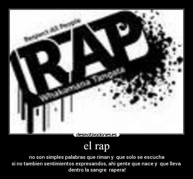 El Rap Desmotivaciones