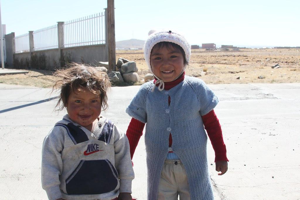 Unger på El Alto