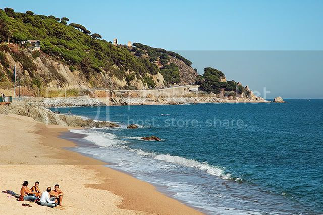Sant Pol de Mar, Maresme Coast, Catalonia, Spain [enlarge]