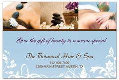PCS-1056 - salon postcard flyer