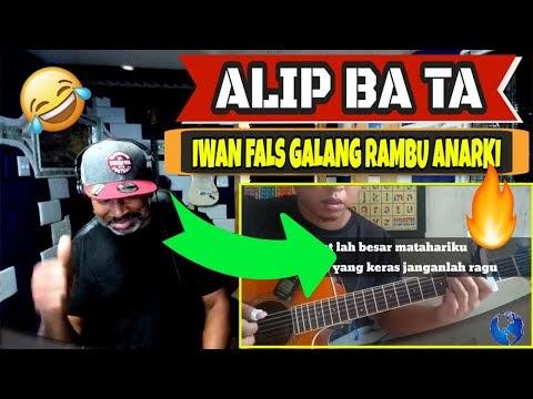 ALIP BA TA - iwan fals Galang rambu anarki (Video Cover) - Producer Reaction