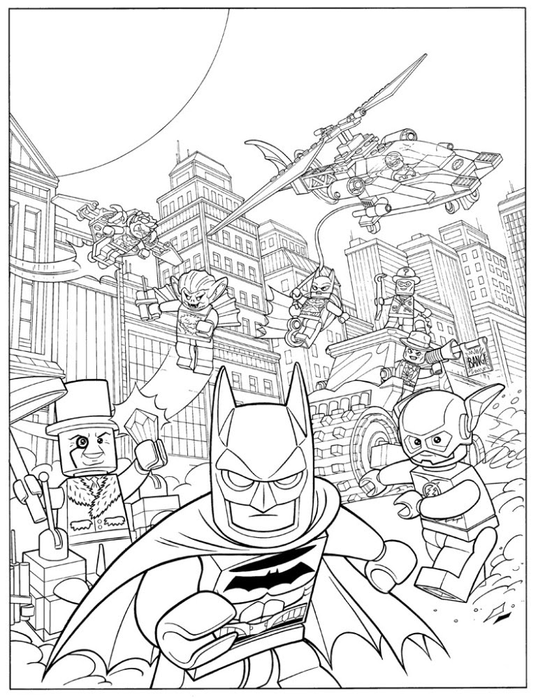 Free Printable Batman Coloring Pages For Kids Afvere