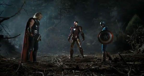 Three of THE AVENGERS.