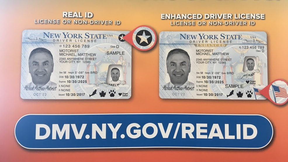 nys enhanced drivers license protective sleeve