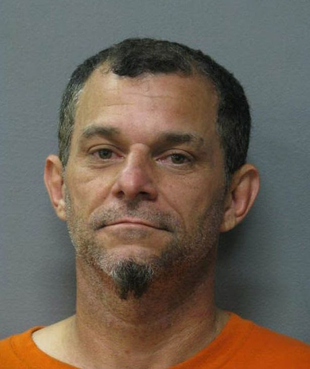 Carl Jacquneaux, who was arrested for allegedly biting another man's face