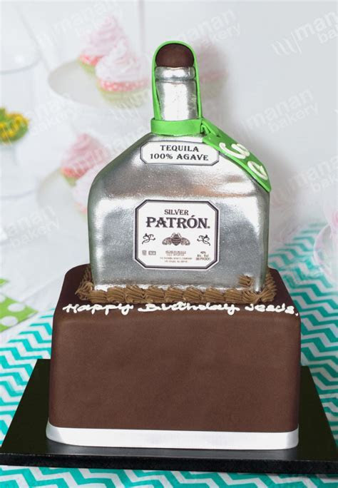 Birthday Cake Tequila Bottle