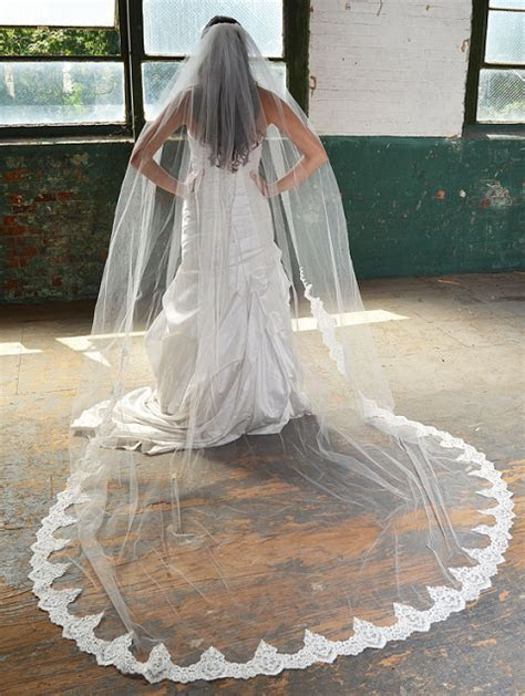 Extra Long Royal Cathedral Length Veils