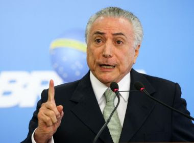 Michel Temer é diagnosticado com infecção urinária