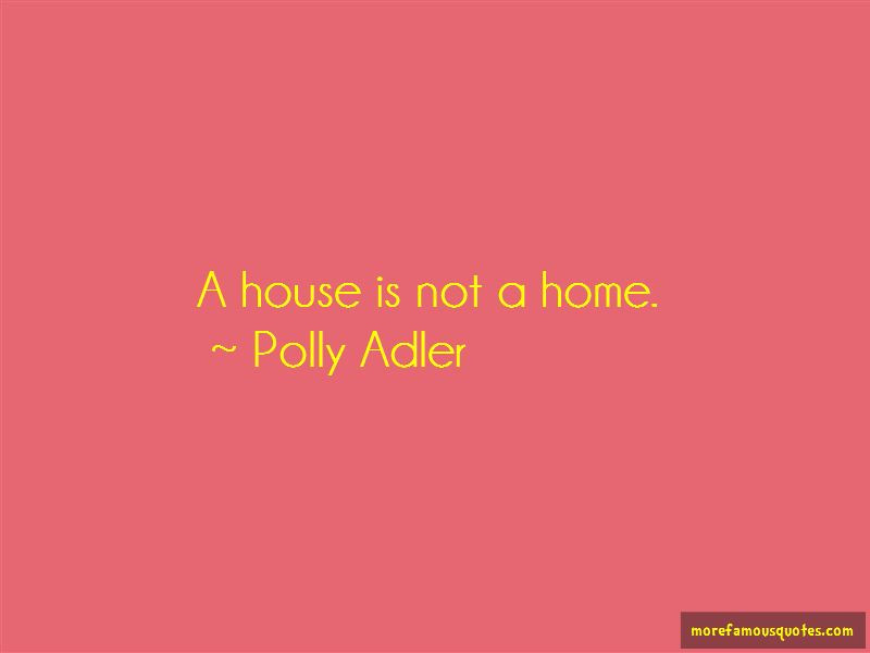 Quotes About A House Is Not A Home Top 48 A House Is Not A Home