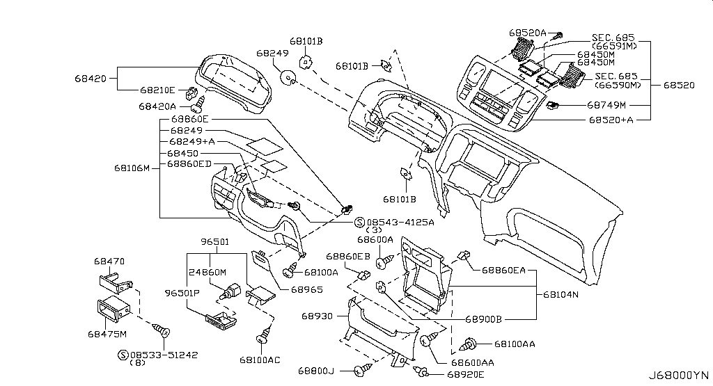 Nissan Caravan E25 Fuse Box Diagram