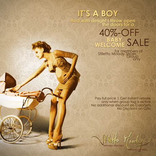 Stiletto Moody baby boy - 40% Baby Welcome Sale