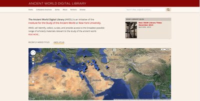 ISAW Library Relauches Ancient World Digital Library with Redesigned Portal