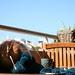 Um dia de sol na varanda