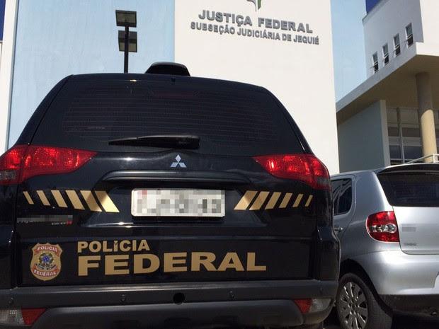 PF fará coletiva de imprensa na cidade de Jequié para falar de operação (Foto: Divulgação/ PF)