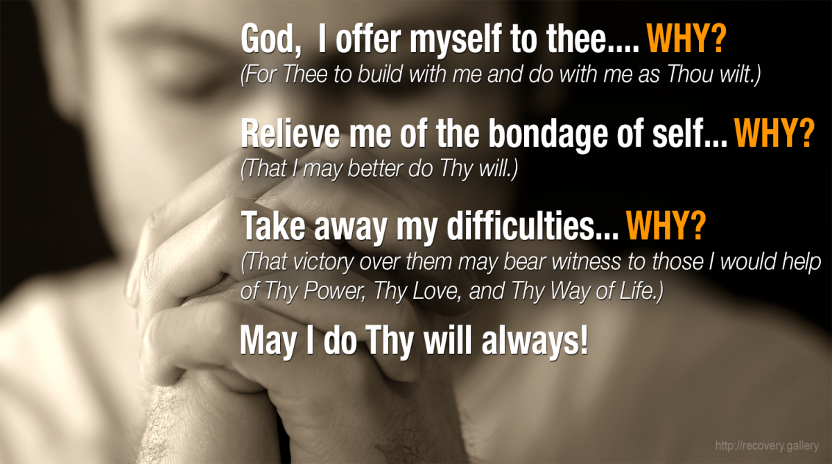3rd Step Prayer