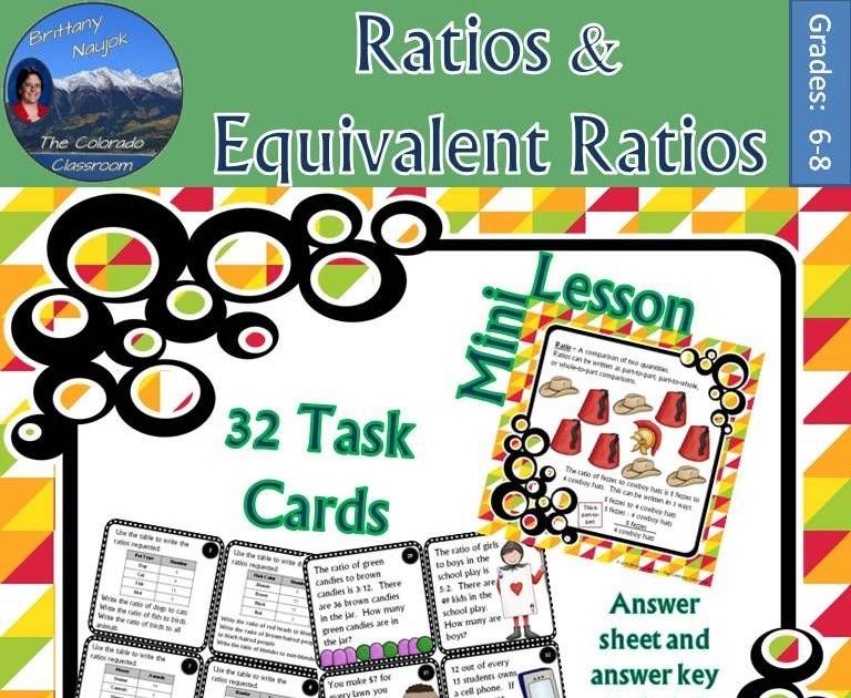 lesson 3 equivalent ratios answer key  riz books