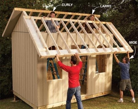 Small Shed Chicken Coop