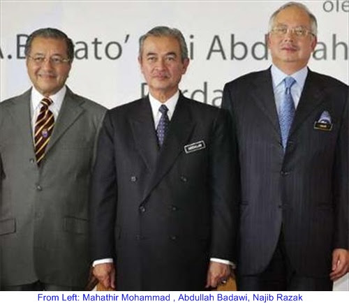 Mahathir Badawi Najib