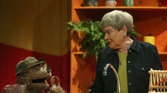 """Actrice Paula Sleyp (oma Paula uit """"Sesamstraat"""") is overleden"""