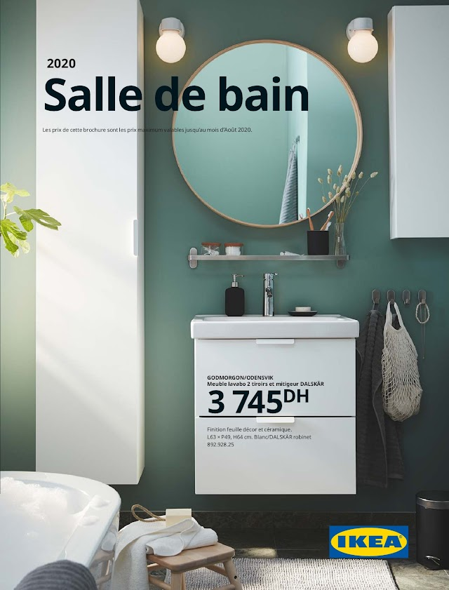 Catalogue IKEA Mroc Salle de bain 2020