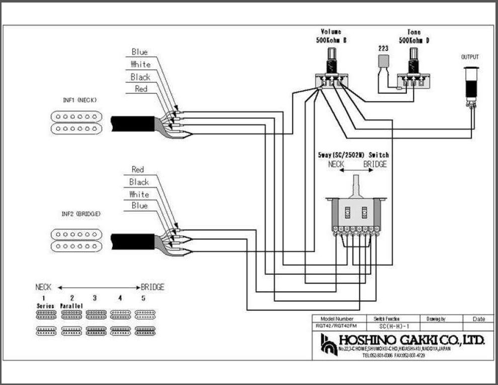 Ibanez Gio Wiring Diagram