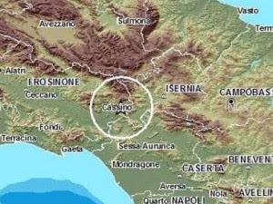 Terremoto in Ciociaria nella notte: paura a Cassino.
