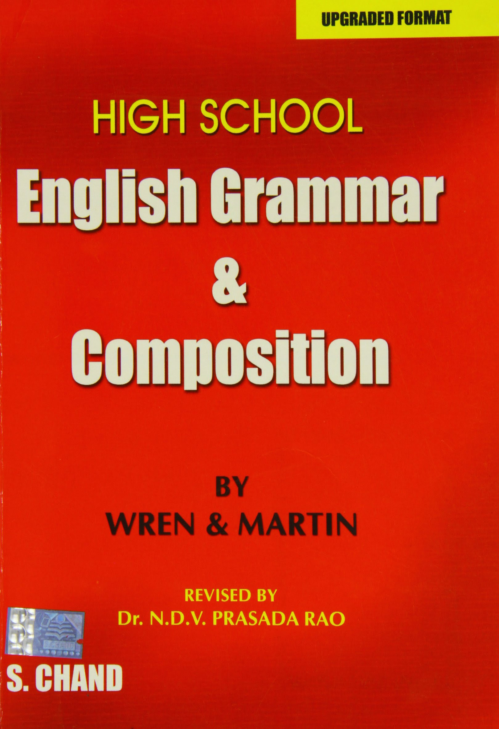 Download High School English Grammar and Composition by P.C Wren, N.D.V. Prasada Rao