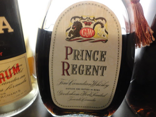 Prince Regent G&W whisky bottle by Roberrific