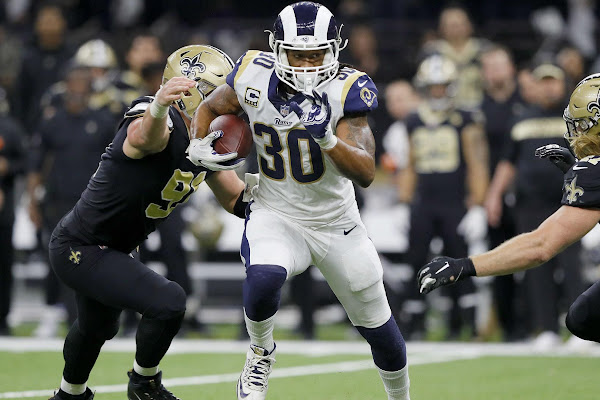 b387cb5d McVay explains Gurley's limited role in Rams' win over Saints