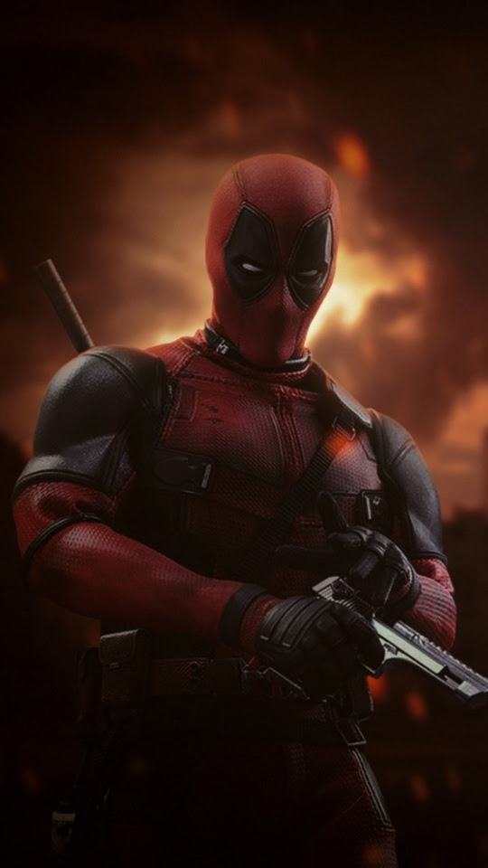 Android Home Screen Deadpool Wallpaper Hd