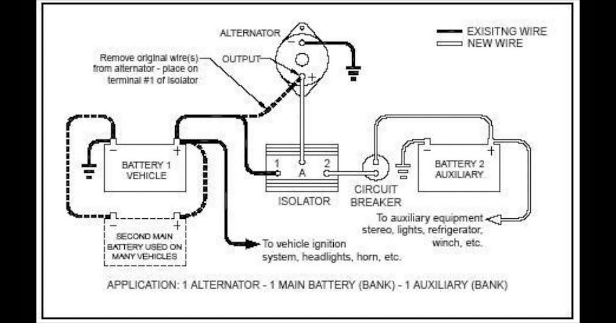 34 Stinger Battery Isolator Wiring Diagram