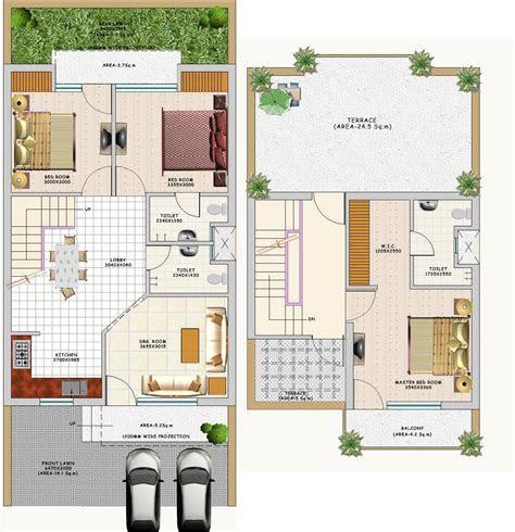 indian villa floor plans duplex small villa floor plans