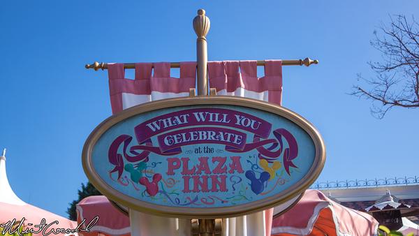 Disneyland Resort, Disneyland, Main Street U.S.A., Plaza, Inn, Restaurant, Celebrate, Frozen, Fever