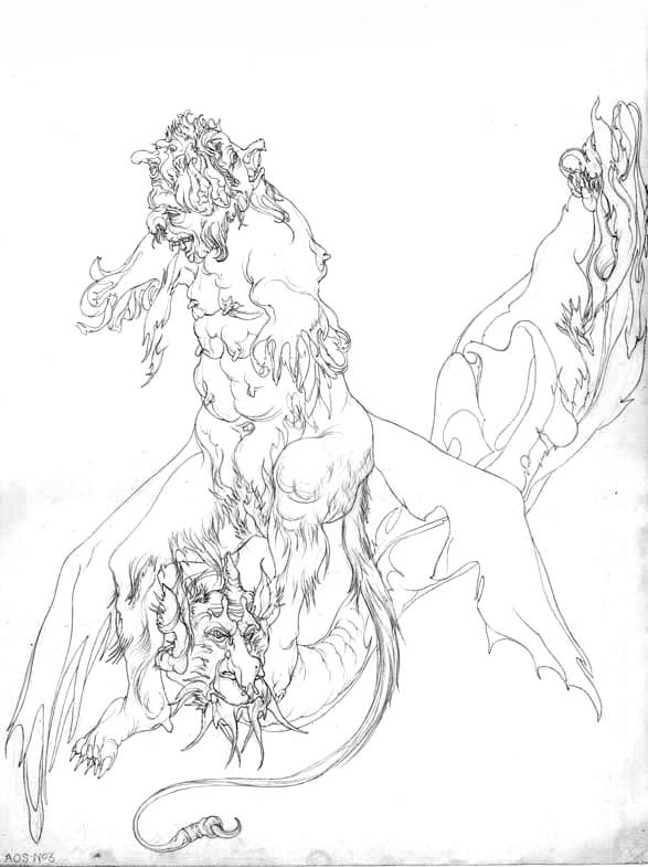 Austin Osman Spare, drawing 16