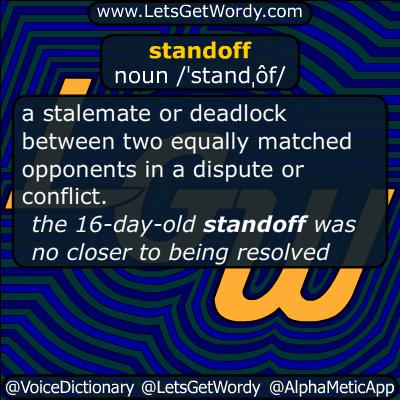 standoff 01/27/2016 GFX Definition