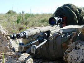 Un tirador en el ejercicio 'Kaddur'