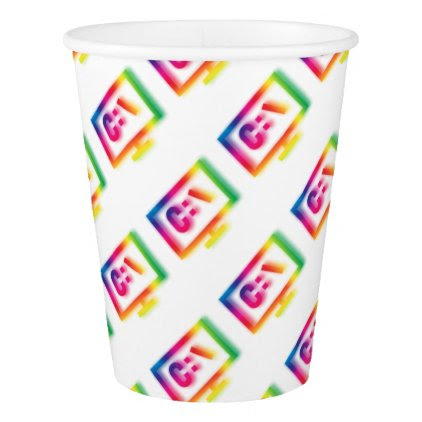 C:\ Nerds and Geeks Rejoice ! Paper Cup