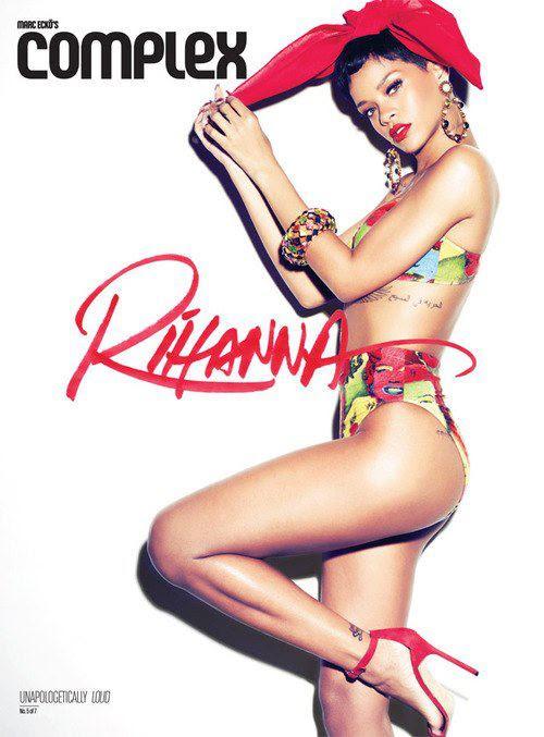 rihanna 2013 complex magazine - Loud