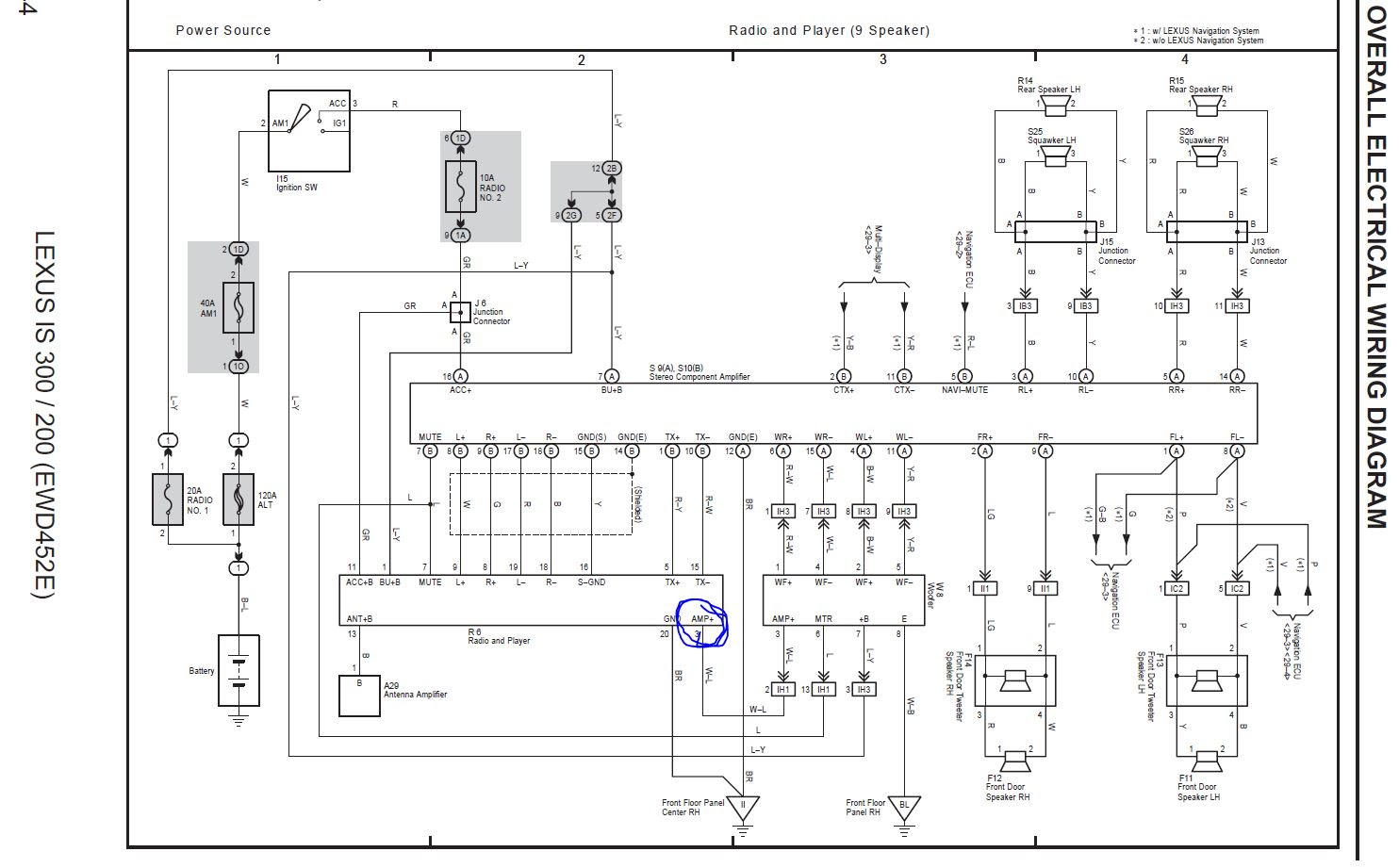 1999 Lexus Is 200 Electrical Wiring Diagram Full Hd Version Wiring Diagram Vadidiagram Cabinet Accordance Fr