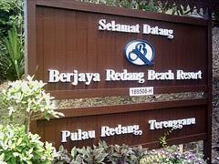 Berjaya Redang Beach Resort, Pulau Redang, Terengganu.