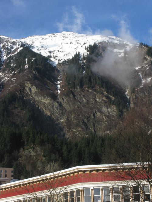 Mount Juneau as seen from downtown, Juneau, Alaska