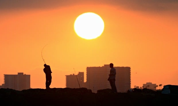 Drought in California : hottest and driest on record  summer on record