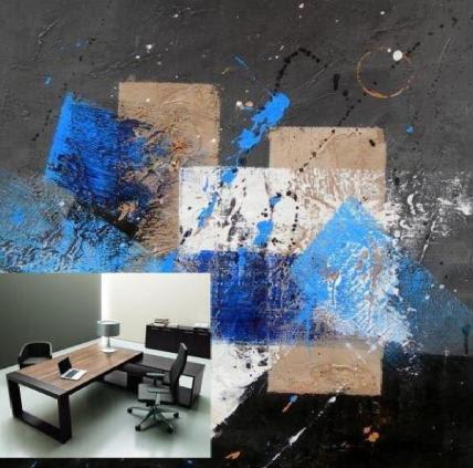 L 39 arte accessibile arredare con i dipinti a olio idea per for Arte nell arredo