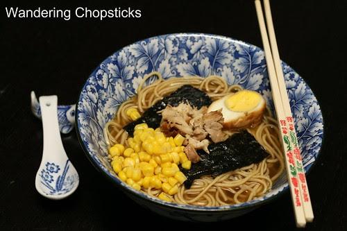 Torigara Shoyu (Japanese Soy Sauce Chicken) Ramen 1
