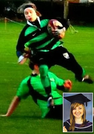 Longton Ladies rugby player died from brain injuries after she was tackled