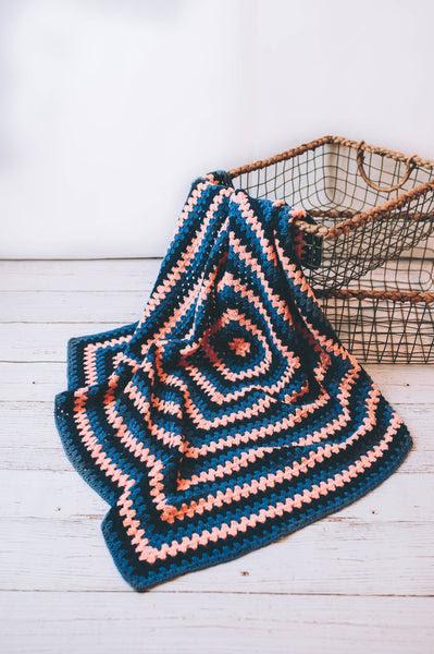 Granny Baby Throw Crochet